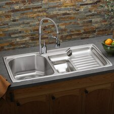 "<strong>Elkay</strong> Harmony 43"" x 22"" Kitchen Sink"
