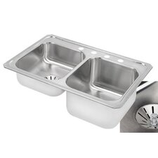 "Gourmet 33"" x 22"" x 9.13"" Kitchen Sink"
