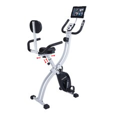 Innova XBR450 Dual Function Folding Upright/Recumbent Bike with iPad / Tablet Holder