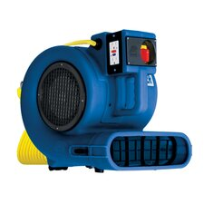 """Daisy Chainable"" Air Mover / Blower and Dryer in Blue"