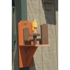 Craft Squirrel Corn Feeder
