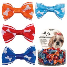 Romeo Dog Bows (Pack of 48)