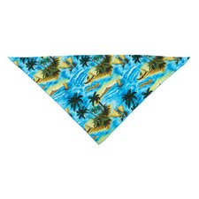 Aloha Dog Bandana in Blue