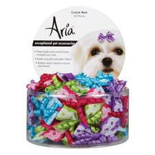 Gracie Dog Bow Canister