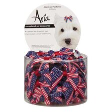 America's Pup Bow (Set of 48)