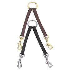 <strong>Casual Canine</strong> Way Leather Dog Coupler Lead