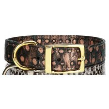 West End Gold Stud Dog Collar