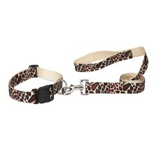 Animal Print Dog Leash
