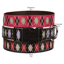 Academy Argyle Dog Collar