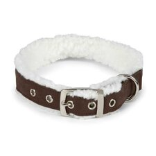 Cozy Sherpa Dog Collar