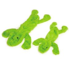 Lakeshore Unstuffed Frog Dog Toy