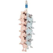 Downy Ducks Clip Strip Dog Toy (Set of 12)
