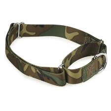 Camo Pattern Martingale Dog Collar