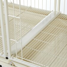 Modular Pet Cage Tray Connector in Ivory