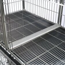 <strong>ProSelect</strong> Modular Pet Cage Tray Connector in Stainless Steel