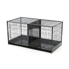 Modular Pet Cage in Regular Black