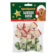 Holiday Bones Dog Treat