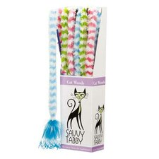 Furry Wand Display Cat Toy (Set of 12)
