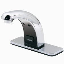 Sensorflo Single Hole Electronic Bathroom Faucet Less Handles