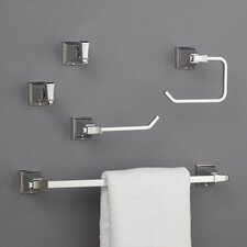 Rainier 5 Piece Bathroom Hardware Set