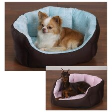 Dimple Plush Nesting Dog Bed