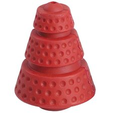 "4"" Hard Rubber Cosmic Cone Dog Toy"