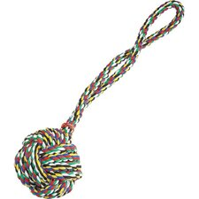 Monkeys Fist Knot Rope Dog Toy in Multi-Color