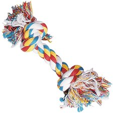 "<strong>Zanies</strong> 16"" 2-Knot Rope Bone Big Dog Dog Toy"