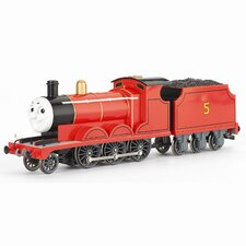 Thomas and Friends - James Red Engine Moving Eyes