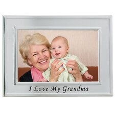 I Love My Grandma Picture Frame