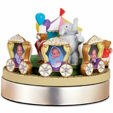 Wind Up Musical Circus Train Picture Frame