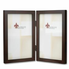 Hinged Double Picture Frame