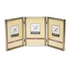 Traditional Hinged Triple Picture Frame