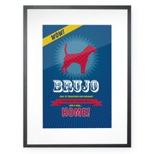 Personalized Superhero Beagle Framed Graphic Art