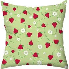 Berry Dots Outdoor Throw Pillow