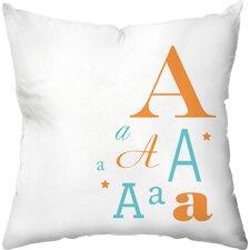 Monogram Mixture Throw Pillow