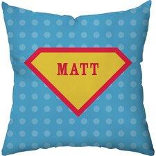 Superhero Personalized Throw Pillow