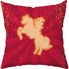 Buckaroo Throw Pillow