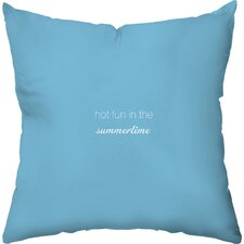 Favorite Flavors Throw Pillow