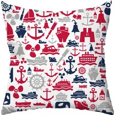 Seafarer Throw Pillow