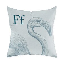 Flamingo Polyester Throw Pillow