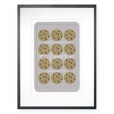 Personalized Fresh Baked Welcome Framed Graphic Art