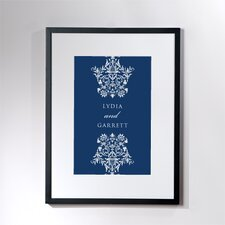 Personalized Mélange Framed Graphic Art