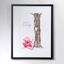Personalized Entwine Framed Graphic Art