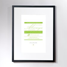 Personalized Irish Blessing Wall Décor