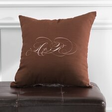 <strong>Checkerboard, Ltd</strong> Personalized Harmony Polyester Throw Pillow
