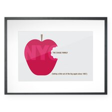 Personalized Big Apple Wall Décor