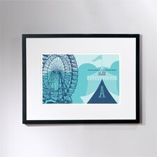 Personalized Carnival Framed Graphic Art