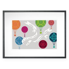 Personalized Aloft Framed Graphic Art