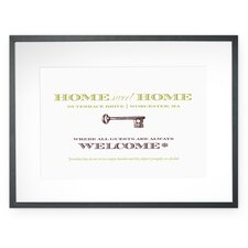 Personalized Welcoming Warning Wall Décor